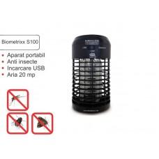 Aparat portabil anti insecte Biometrixx S100 (conectare USB) - acopera aprox. 20 mp