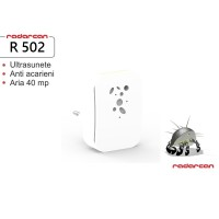 Aparat cu ultrasunete anti acarieni si purificator de aer R-502 (40 mp)
