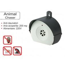 Animal chaser aparat cu ultrasunete pentru uz exterior impotriva cainilor si a pisicilor