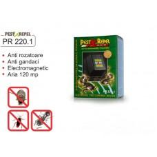 Aparat anti  gandaci cu unde electromagnetice - PR 220.1 - 120 mp