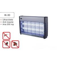 Aparat cu ultraviolete impotriva insectelor zburatoare IK 30 (acopera aprox. 200 mp)